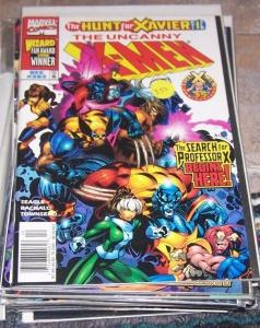 Uncanny X-Men #362 (Dec 1998, Marvel) hunt for xavier +wolverine gambit rogue