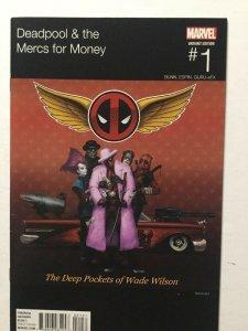 Deadpool & The Merc For Money 1 Variant Nm Near Mint