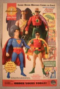 1ST APPEARANCE ACTION FIGURES Promo Poster, 2004, Unused, more in our store