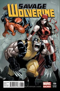 Savage Wolverine #6B VF/NM; Marvel   save on shipping - details inside