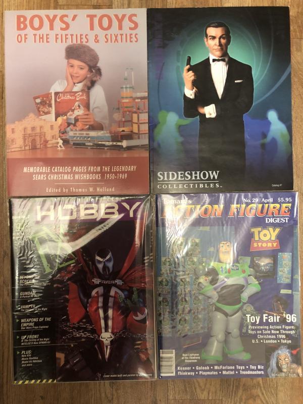 Toy enthusiast books (4)