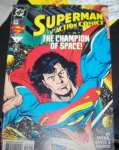 Action Comics #696 (Feb 1994, DC) superman champion of space