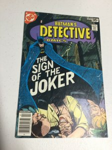 Detective Comics 476 Fn Fine 6.0 DC Comics