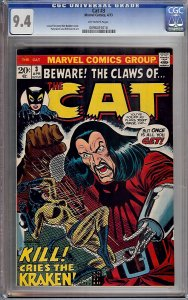 Cat #3 (Marvel, 1973) CGC 9.4
