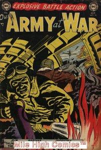 OUR ARMY AT WAR (1952 Series) #15 Good Comics Book