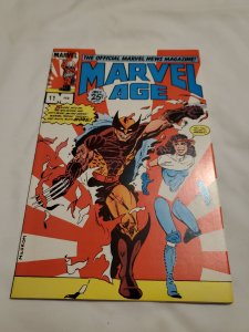 Marvel Age 11 Near Mint- Cover by  Al Milgrom