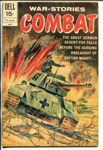 Combat #31 1971-Dell-Rommel,Desert Fox-Napoleon-Nazi tank cover-VG