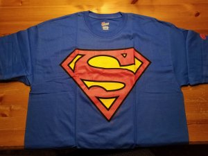 Superman T-Shirt XL Graphitti NOS w/Tags DC Comics