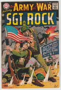 Our Army at War #185 (Oct-67) VF High-Grade Easy Company, Sgt. Rock
