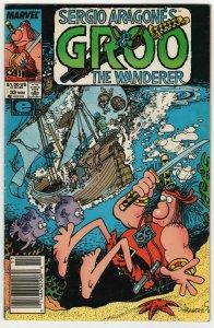 Sergio Aragone's Groo The Wanderer #33 (Marvel, 1987) VG-