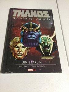 Thanos The Infinity Relativity Nm Near Mint Oversized HC Hardcover Marvel Comics