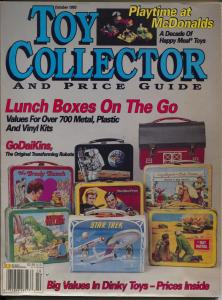 Toy Collector & Price Guide 12/1993-lunch boxes-Dinky toys-color pix-VG