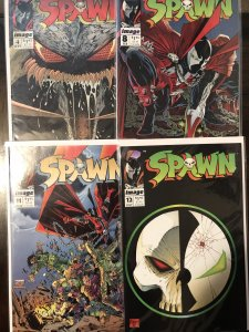 Spawn 8 book package