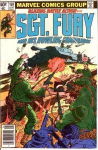 SERGEANT FURY 159 VF-NM Aug. 1980 COMICS BOOK