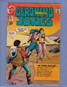 Geronimo Jones #8 VG Charlton 1972