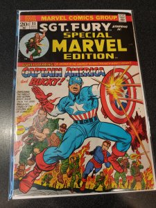 Special Marvel Edition #11 (1973) CAPTAIN AMERICA ISSUE