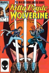 Kitty Pryde and Wolverine #5, NM- (Stock photo)
