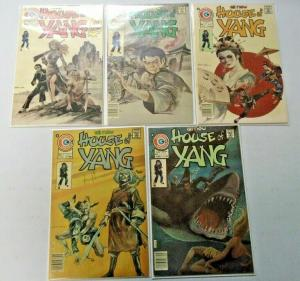 Yang lot 10 different books range 6.0 to 8.0 (1975)