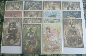 Lady Mechanika #0 1 2 3 4 5 Multiple Covers (Lot of 14) NM Comics See Listing