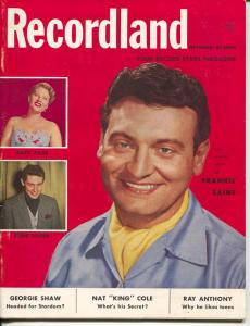 Recordland-Ray Anthony-Frankie Laine-Patti Page-Eddie Fisher-Sept-1954
