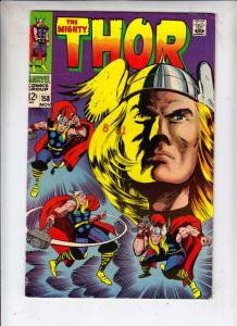 Thor, the Mighty #158 (Nov-68) VG/FN+ Mid-Grade Thor