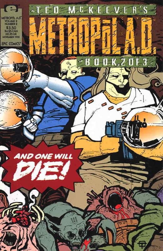 Metropol A.D. (Ted McKeever's…, Vol. 2) #2 VF/NM; Epic | save on shipping - deta
