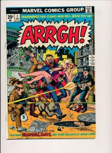 Marvel Comics ARRGH! #1,2 Vampire / Monster - Stan Lee etc. (PF71)