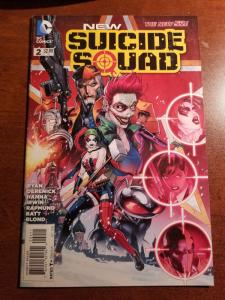 NEW SUICIDE SQUAD #2 NEAR MINT DC NEW 52