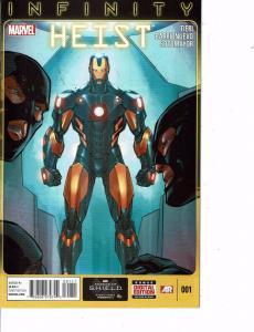Lot Of 2 Comic Books Marvel Infinity Heist #1 and Illuminati #1 ON9
