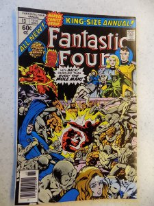 FANTASTIC FOUR KS ANNUAL # 13 MARVEL BRONZE ACTION THING TORCH FN+