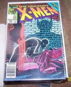 UNCANNY X-MEN #196  1985, Marvel secret wars wolverine beyonder