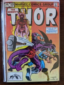 Thor #325 (1982) VG Spot on cover.