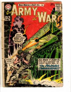 Our Army At War # 122 GD DC Comic Book Feat. Sgt. Rock Easy Co. Kubert J207