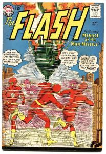 THE FLASH  #144-1963-DC-MAN MISSLE-SILVER-AGE