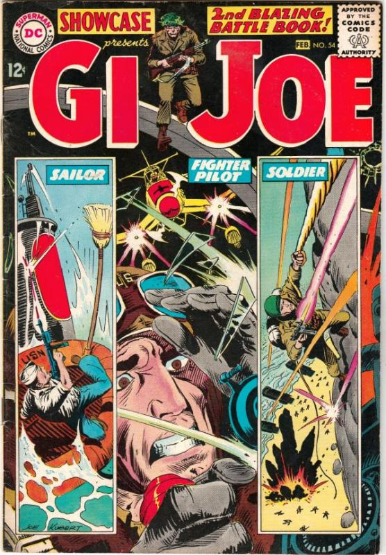Showcase #54 (Feb-65) VF+ High-Grade G.I. Joe