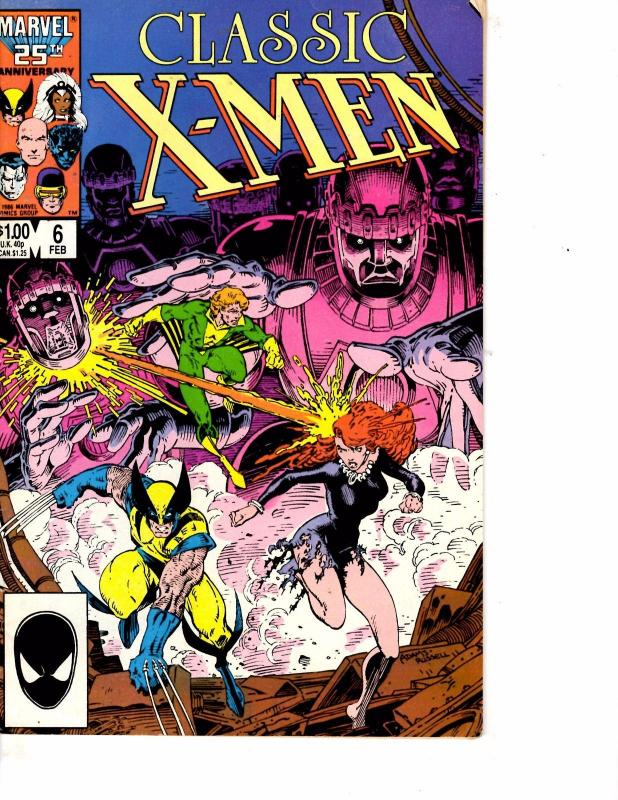 Lot Of 2 Marvel Comic Books Classic X-Men #6 and Cable #38 ON3