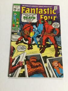 Fantastic Four 101 Vg/Fn Very Good/Fine 5.0 Marvel