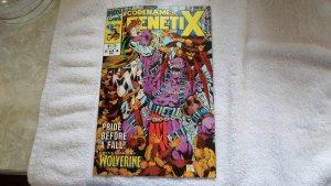 MAR. 1992 MARVEL COMICS UK CODENAME GENETIX # 2 OF 4
