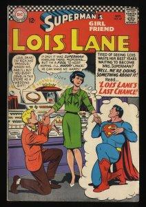 Superman's Girl Friend, Lois Lane #69 VG 4.0