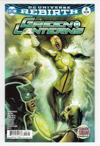 GREEN LANTERNS (2016 DC COMICS) #3