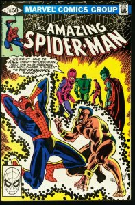 AMAZING SPIDER-MAN #215-1981-MARVEL VF