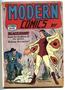 Modern #78 1948-Quality-Blackhawk-Torchy-1st Madame Butterfly FN