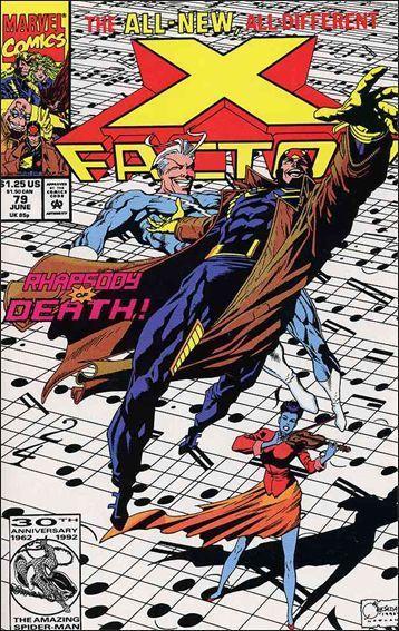 Marvel X-FACTOR (1986 Series) #79 NM