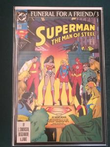 Superman The Man of Steel #20 Funeral For A Friend part 3
