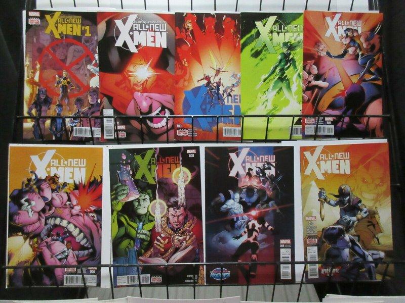 All New X-Men (Marvel v2 2016) #1-6, 8, 9 Var, 10 Hopeless Bagley Hennessy