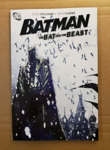 BATMAN THE BAT AND THE BEAST TPB SOFT COVER FIRST PRINT DC GRAPHIC NOVEL