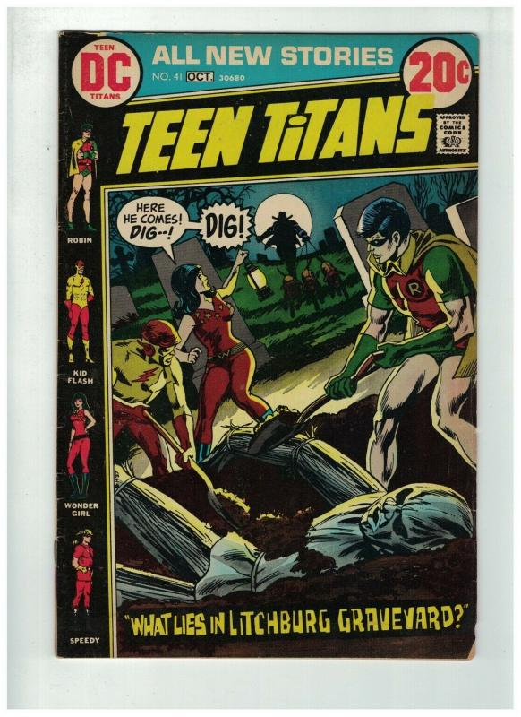 TEEN TITANS (1966) 41 G+  October 1972