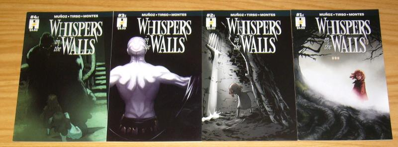 Whispers in the Walls #1-4 VF/NM complete series - daivd munoz/tirso - humanoids