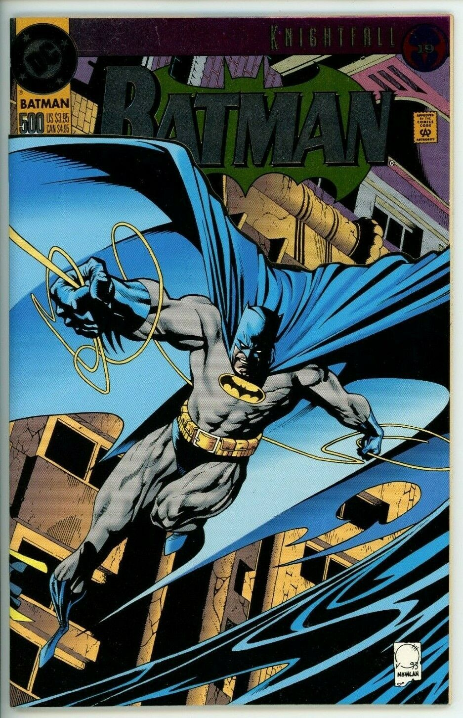 Batman 115 115   115.15 VF  Knightfall Part 15 / HipComic