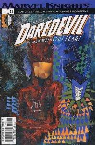 Daredevil (Vol. 2) #21 VF; Marvel | save on shipping - details inside